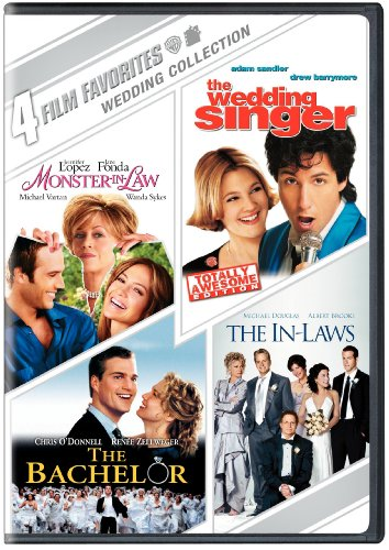 4 Film Favorites: Weddings (The Bachelor, The In-Laws, Monster-in-Law, The Wedding Singer: Special Edition) by Warner Manufacturing