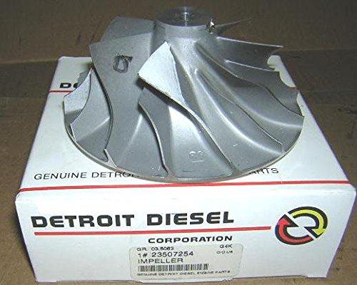 23507254, Detroit Diesel Turbo Impeller