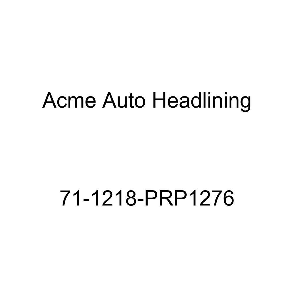 Acme Auto Headlining 71-1218-PRP1276 Dark Green Replacement Headliner 8 Bow 1971 Oldsmobile Custom Cruiser 4 Door Wagon