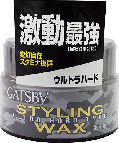 Mandom Gatsby Styling Ultra Hard Type Wax, 2.8oz(80g)
