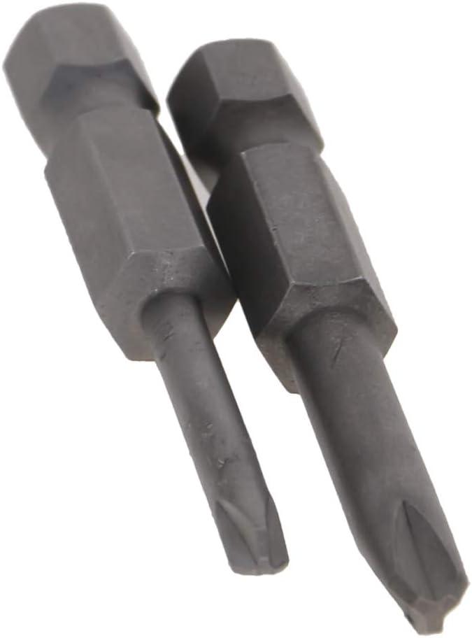 Utoolmart Screwdriver Bits Set 2pcs 1//4 Inch Hex Shank Y1 Y2 Magnetic Screwdriver Bit Set 50mm Length S2 Screw Driver Kit Tools