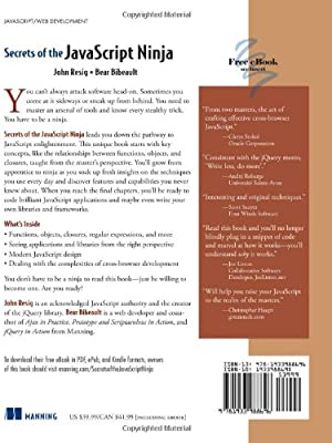 Secrets of the JavaScript Ninja: Amazon.es: John Resig, Bear ...