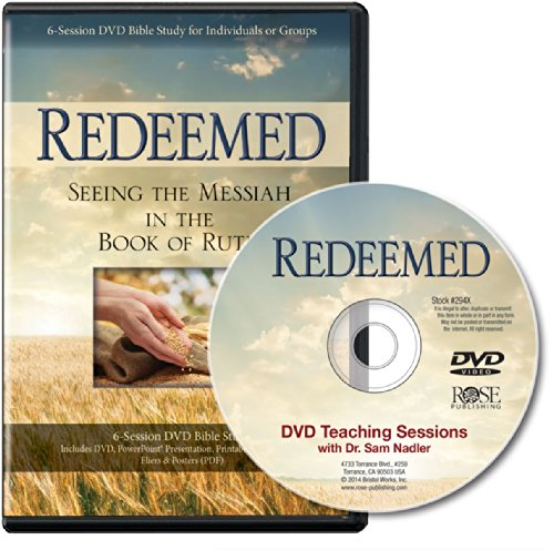 Redeemed: Seeing the Messiah In the Book of Ruth 6-Session DVD Bible Study
