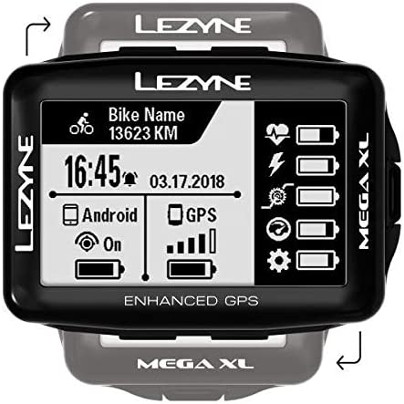 LEZYNE Mega XL GPS Bicycle Computer