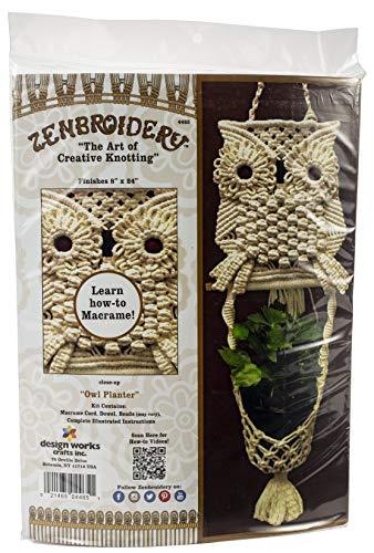 Design Works Crafts DWC4465 Zen Mac Kit Owl Planter