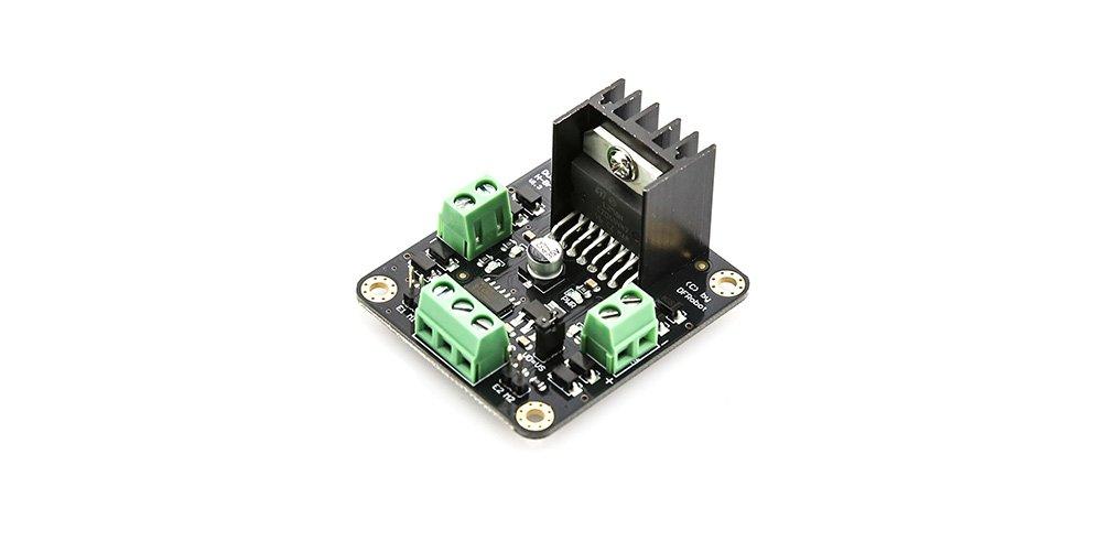 DFRobot MDV 2x2A Arduino DC Motor Controller (L298N)