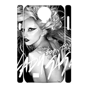 C-EUR Cell phone case Lady Gaga Hard 3D Case For Samsung Galaxy S4 i9500