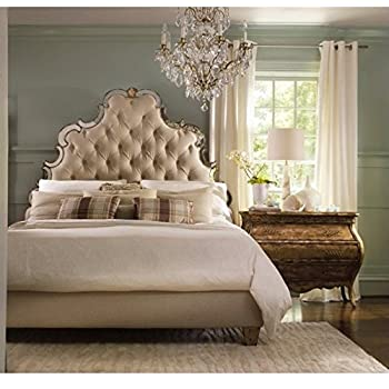 Attractive Hooker Furniture Sanctuary Tufted Bed In Bling   Queen