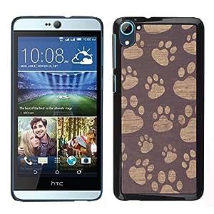 Dragon Case - FOR HTC Desire D826 - The darkness is no darkness - Caja protectora de pl??stico duro de la cubierta Dise?¡Ào Slim Fit