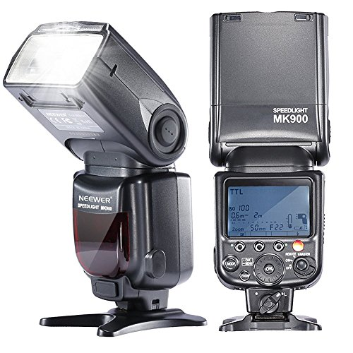 Neewer MK900 i-TTL LCD Display Speedlite Master/Slave Flash for Nikon D3S D50 D60 D70 D70S D80 D80S D200 D300 D300S D700 D3000 D3100 D5000 D5100 D7000 and All Other Nikon DSLR Camerasの商品画像