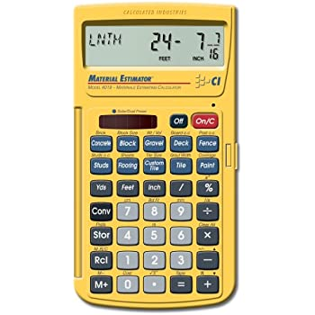 Calculated industries home project calculator
