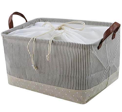 58446e2e1f9e iwill CREATE PRO Breathable Cotton Clothes Storage Basket for Stairs ...