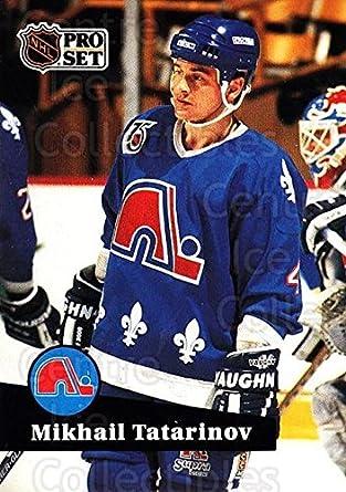 Amazon.com  (CI) Mikhail Tatarinov Hockey Card 1991-92 Pro Set (base ... adaa11020