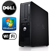 Dell Optiplex 745 SFF - Intel Pentium Dual Core 3.4GHz, 4GB DDR2, New 1TB HDD, Windows 7, WiFi, DVD-ROM (Prepared by ReCircuit)
