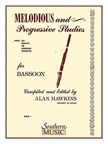 Music Bassoon Book 1 (Melodious and Progressive Studies, Book 1: Bassoon)