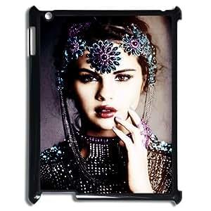 DIY Selena Gomez Hard Case for iPad 2,iPad 3,iPad 4, Personalized Selena Gomez Ipad 4 Hard Cover Case, Custom Selena Gomez iPad 2 Cover
