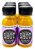 The Twisted Shot - Organic Apple Cider Vinegar shot with Turmeric, Ginger, Cinnamon, Honey & Cayenne - 6-pack of 2oz shots