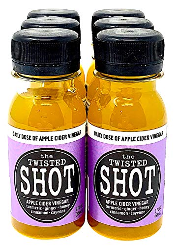 The Twisted Shot - Organic Apple Cider Vinegar shot with Turmeric, Ginger, Cinnamon, Honey & Cayenne - 6-pack of 2oz shots by The Twisted Shrub (Image #8)