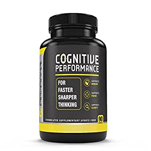 Performance Enhanced - COGNITIVE PERFORMANCE | Mind Enhancing Supplement | Improve Memory | Boost Brain Power | Enhance Mental Clarity | Best for Cognitive Function, Concentration & Focus | 60 Capsules