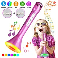 Fixget Wireless Karaoke Microphone for Home Party Music with Speaker Music Singing Equipment for Smart Phone