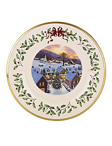 Lenox 2012 Annual Holiday Plate