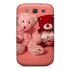 Galaxy High Quality Tpu Case/ Happy Valentines Day Bear JEcxLMi6084VFvLf Case Cover For Galaxy S3