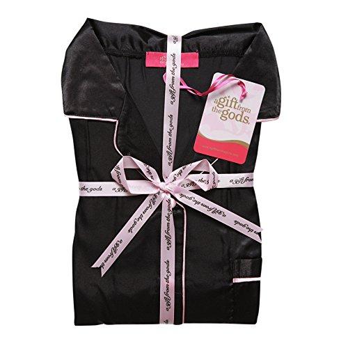 from Gods Conjunto Gift mujer para pijama negro de A The de qPqZ8xv