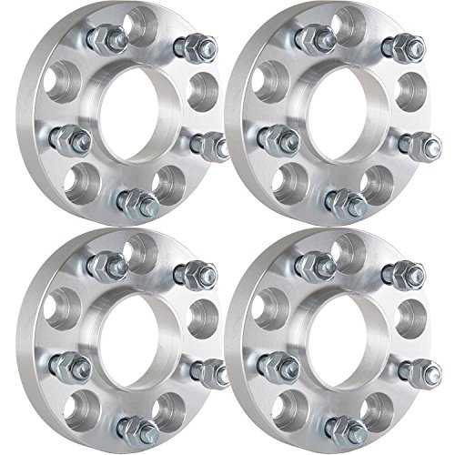 Wheel Spacer Adapters,ECCPP Hubcentric Wheel Spacers 25mm 1