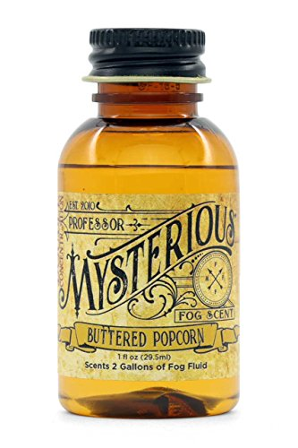 Professor Mysterious Buttered Popcorn Fog Machine Scent, ounce, 2x concentrate, treats 2 gallons