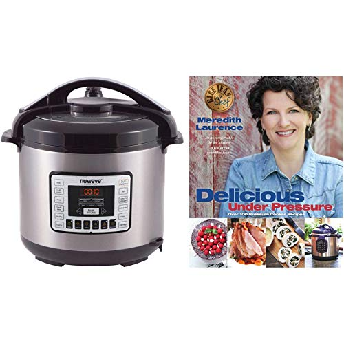 "Nuwave 8 qt. Digital Pressure Cooker with ""Delicious Under Pressure"" Cookbook Review"