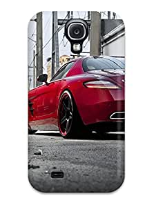 Hot 6617636K36112725 Galaxy S4 Mercedes Print High Quality Tpu Gel Frame Case Cover