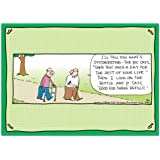 Senior Moments! Hilarious Rhymes with Orange Greeting Card Assortment - from Hilary B. Price and Tree-Free Greetings, Set of 12 Cards and Envelopes, 2 Each of 6 Card Designs (91194)