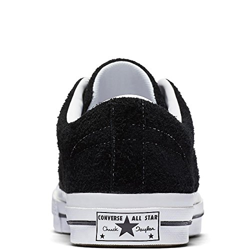 white Star Adulte Mixte Sneakers Noir white Ox Lifestyle 001 Basses One Converse black EYwAq0vn