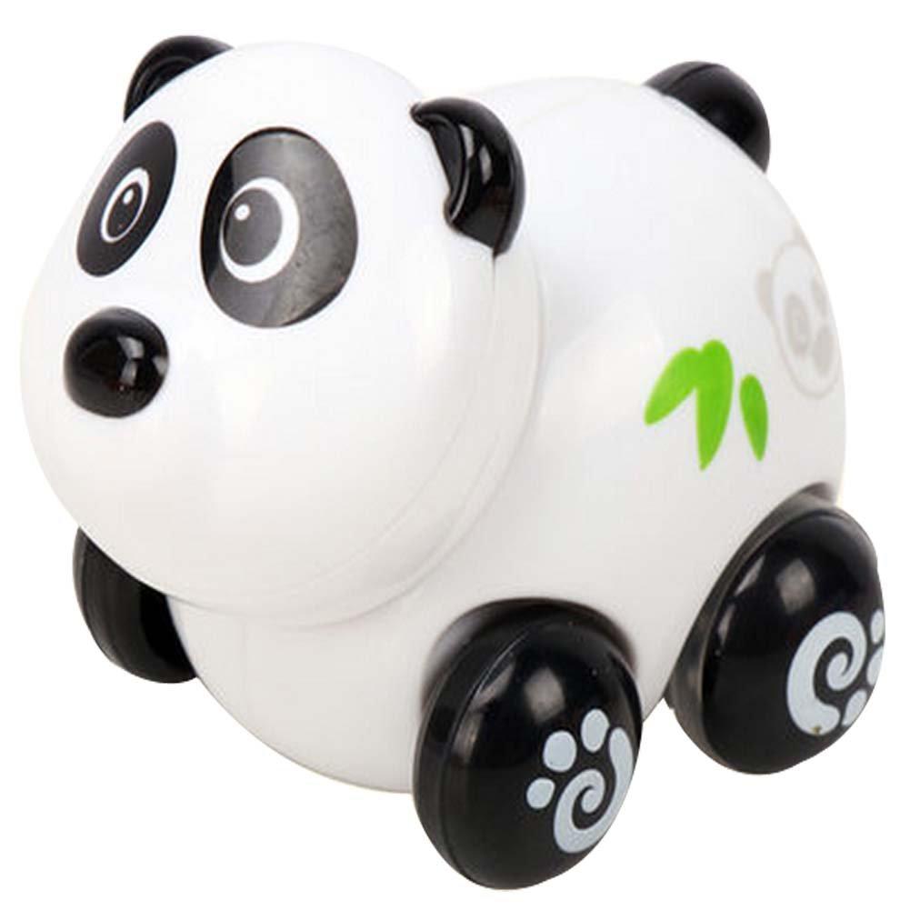 Lot de 2 Panda Car Wind-up Toy pour bébé / enfant / enfants (Multicolor)