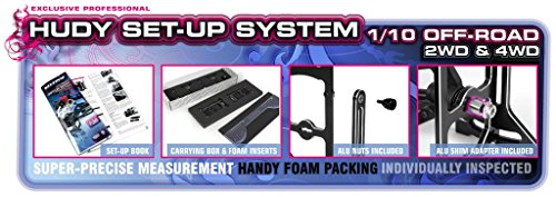 Off Road System - Hudy Universal Exclusive Set-Up System (1/10 Off-Road)