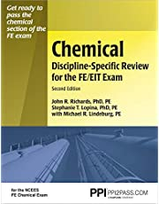 PPI Chemical Discipline-Specific Review for the FE/EIT Exam, Second Edition – A Comprehensive Review Book for the NCEES FE Chemical Exam