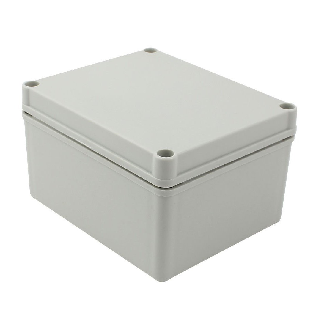 YXQ 170 x 140 x 95mm Electrical Project Case Junction Box IP65 Waterproof ABS DIY Power Outdoor Enclosure Grey (6.7 x 5.5 x 3.7 inches)