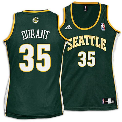 Amazon.com   Kevin Durant NBA Seattle Supersonics Womens Jersey ... 2acaa5bc7a