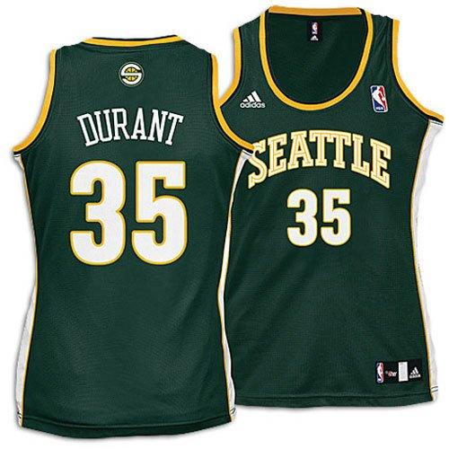 Amazon.com   Kevin Durant NBA Seattle Supersonics Womens Jersey ... 53b071d677