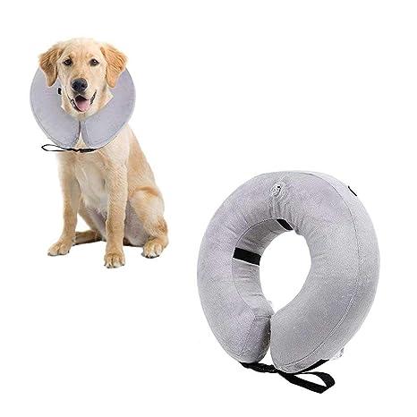 KOBWA - Collar Hinchable para Perros, Gatos, Collar de ...