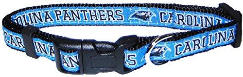 Pets First NFL Carolina Panthers Pet Collar, Medium]()