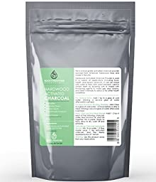 Hardwood Activated Charcoal Powder, 8 Oz. Very Fine, Organic From USA Hardwood. Raw Food Grade, Natural Teeth Whitener, Detoxifier