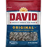 DAVID Roasted and Salted Original Sunflower Seeds, 5.25 oz