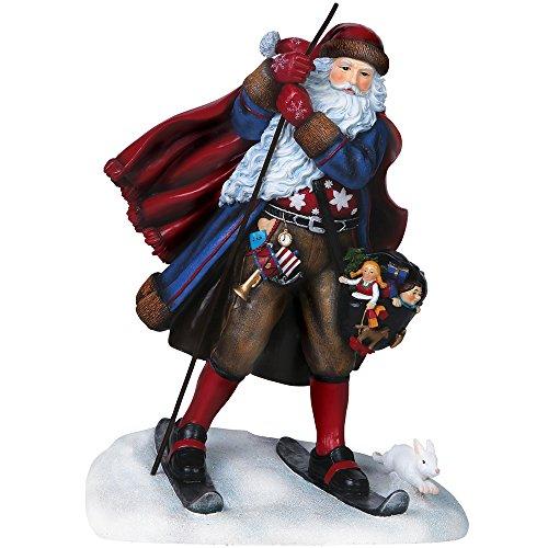 "Pipka, Christmas Gifts, ""Juleman Santa"", Limited Edition Resin Sculpture, #7151200 by Pipka"