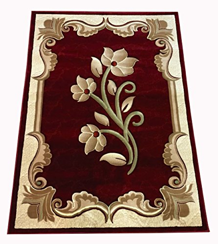 new-contemporary-flower-design-red-burgundy-floral-modern-area-rug-carpet-5-by-8
