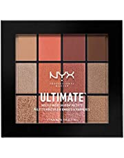 NYX Professional Makeup Ultimate Multi-Finish Shadow Palet, Oogschaduw-palet, Warm Rust 08