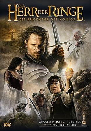 Der Herr Der Ringe Die Rückkehr Des Königs 2 Dvds Amazonde