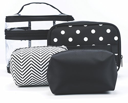Danielle 4 Piece Cosmetic Classic Black product image