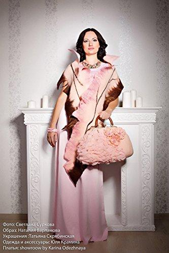 - pink red Women merino wool scarf Felted merino wool scarf shawl handmade Wool Women Nuno felted scarf Wool Silk scarf pink wool scarf handfelted scarf