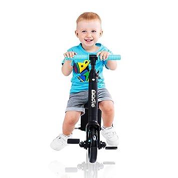 Amazon.com: QRFDIAN - Patinete infantil de 3 en uno para ...